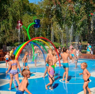 Jeux d'eau urbains
