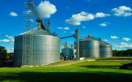 Usine de production agricole- ferme